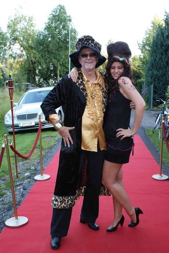 Edgar 60iger mit Tochter Sylvia