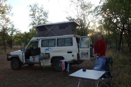Ilse und Josef in Australien